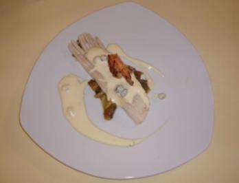 Rochenflügel auf karamellisiertem Chicoree - Rezept