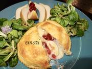 gefüllter Camembert im Blätterteigkleid gebacken - kulinarische Weltreise - Rezept - Bild Nr. 14170