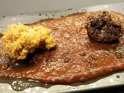 Zweifarbiges Kichererbsen-Duo auf Crunchy Tomatenbett - Rezept - Bild Nr. 14170