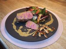 Filet Steak mit Salat - Rezept - Bild Nr. 14182