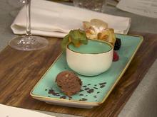 Apfelstrudel 2.0 mit Vanillesauce, dazu Zartbitter-Schokoladeneis - Rezept - Bild Nr. 14212