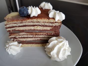 """Torte """"Birne Helene"""" - Rezept - Bild Nr. 14220"""