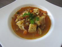 Fischsuppe (Bouillabaisse) - Rezept - Bild Nr. 14239