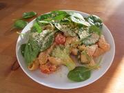 Nudelauflauf mit Hummus und Gemüse - Rezept - Bild Nr. 14241