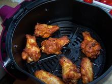 Spargel weiß, mit Chicken Wings, und Fantasie Soße - Rezept - Bild Nr. 14242