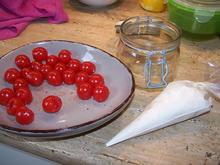 Gefüllte Mini Tomaten im Glas - Rezept - Bild Nr. 14242