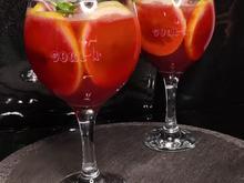 rote Pampelmuse Cocktail Rezept für 2 Gläser - Rezept - Bild Nr. 14251