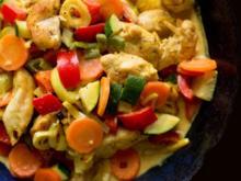 Gemüse-Geflügel-Curry - Rezept - Bild Nr. 2