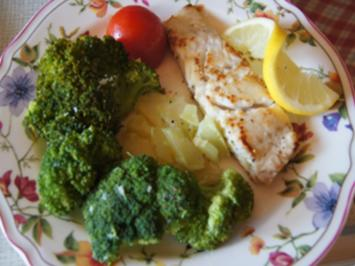 Seelachsfilet mit Brokkoli - Rezept - Bild Nr. 2