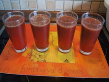 Erdbeer-Limonade - Rezept - Bild Nr. 14290