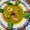 Kartoffel-Kailan Suppe mit Garnelen ala Dapoer Sriwidi - Rezept - Bild Nr. 14307