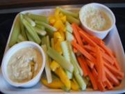 Dippen mit Gemüse-Sticks - Rezept - Bild Nr. 2