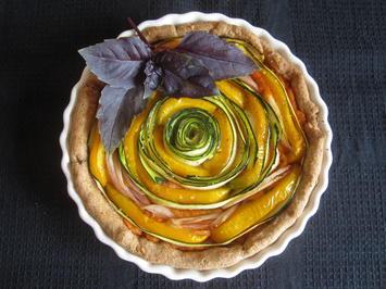 Herzhafter Gemüsekuchen - Rezept - Bild Nr. 14315