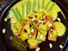 Würzig-scharfe Kokossuppe mit Jakobsfrüchten – Gulai Nangka - Rezept - Bild Nr. 14316