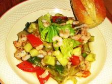 Gemischter Salat mit Eismeer-Garnelen - Rezept - Bild Nr. 2