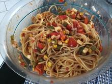 Spaghetti(Nudel-) Salat Texas - Rezept - Bild Nr. 14322