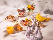 Kakao-Haselnuss-Bowl mit nutella - Rezept - Bild Nr. 14363