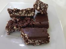 Puffreis-Schokoladen-Brocken - Rezept - Bild Nr. 14404