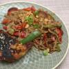 Soja-Maishähnchen mit Buchweizennudeln und Wok-Gemüse - Rezept - Bild Nr. 2