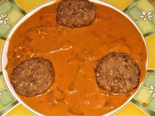 Rotes Zwiebel-Frischkäse-Gemüse - Rezept - Bild Nr. 14396