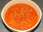 Paprika-Schmelzkäse-Nudeln - Rezept - Bild Nr. 14396