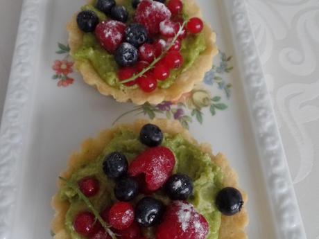 Beeren-Tartelettes mit Pistazien-Creme - Rezept - Bild Nr. 2