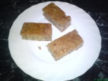 Lebkuchen vom Blech - Rezept