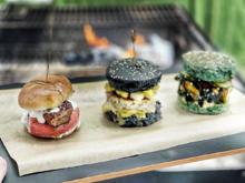3erlei Burger: Vegan, Garnele, Kebab (NoAngels) - Rezept - Bild Nr. 2