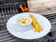 Skyr-Soufflé mit flambierter Ananas (Rurik Gislason) - Rezept - Bild Nr. 2