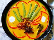 "Süßkartoffelsuppe ""Cia's Kitchen"" -- Gulai Ubi Padang - Rezept - Bild Nr. 14502"