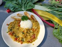 Mangold - Curry mit Linsen - Rezept - Bild Nr. 2