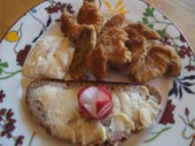 Steinpilzschnitzelchen mit Tatarska Omacka und Bauernbutterbrot - Rezept - Bild Nr. 2