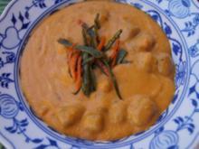 Kokos-Möhren-Suppe mit Einlage - Rezept - Bild Nr. 2