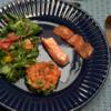 Lachs und Salat - Rezept - Bild Nr. 2