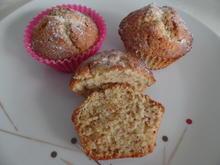 Marzipan-Mandel-Muffins - Rezept - Bild Nr. 14663