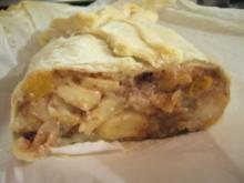 Mehlspeisen: Apfel-Pfirsich-Nuss Strudel - Rezept