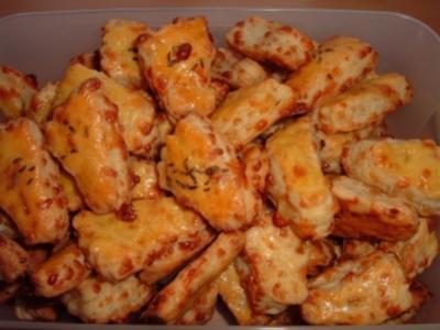 Käsefüße - Rezept