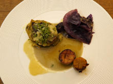 Kräuterseitlinge mit Kartoffeln und Spitzkohl - Rezept - Bild Nr. 14682