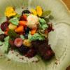 Schokolade mit Beeren und Blumen - Rezept - Bild Nr. 14682