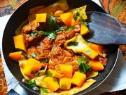 Knusprig-gebratene Pappardelle mit Fleischsauce und Papaya - Rezept - Bild Nr. 14689