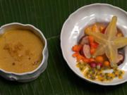 Dessert-Teller (Tropische Früchte in unterschiedlichen Varianten) - Rezept - Bild Nr. 2
