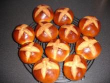 Hot Cross Buns - Rezept