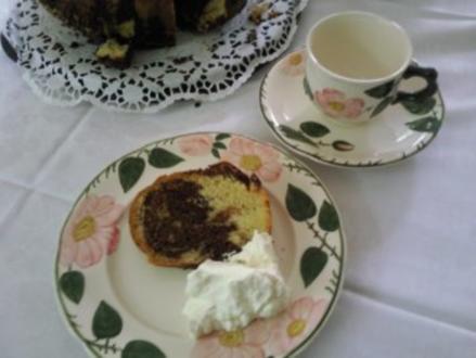 Marmorkuchen mal ganz anders - Rezept