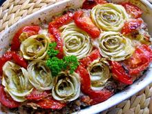 Chicoree-Gratin mit Rinderhack und Tomaten - Rezept - Bild Nr. 3366