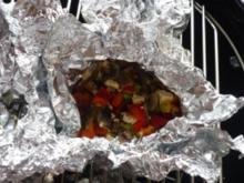 Feta-Grill-Päckchen - Rezept