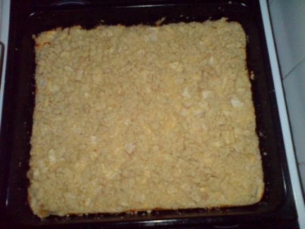 Apfel Streuselkuchen Vom Blech Rezept Kochbar De