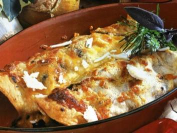 Überbackene Tortilla - Rezept