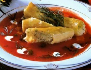 Seelachs-Cannelloni - Rezept