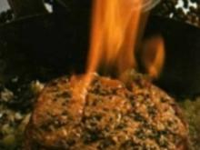 Flambiertes Pfeffersteak - Rezept