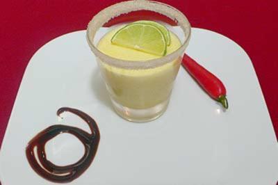 Geeister Limettenschaum - Rezept